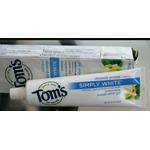 Tom's simply white toothpaste