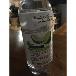 President's Choice (PC) Free & Clear - Key Lime Flavoured Water