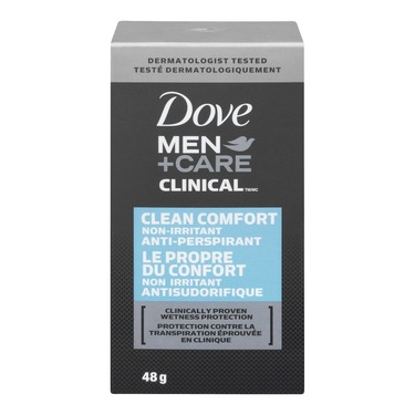 Dove Men+Care Clinical Protection Clean Comfort Antiperspirant Stick