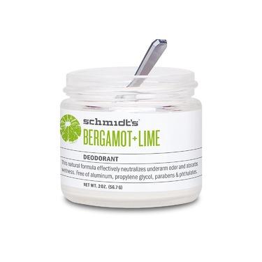 Schmidt's Bergamot + Lime Natural Deodorant Jar
