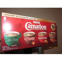 Nestle Carnation Hot Chocolate Variety Pack