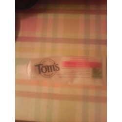 Tom's of Maine maximum strength sensitive soothing mint toothpaste