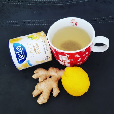 Tetley Care Lemon Ginger