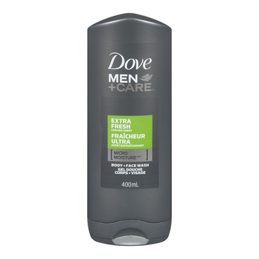 Dove Men + Care Extra Fresh Micro Moisture Body + Facewash