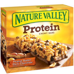 Nature Valley Protein Chewy Bars in Peanut Butter Dark Chocolate
