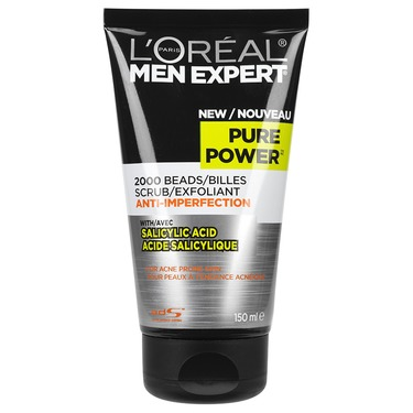 L'Oreal Men Expert Pure Power Anti-Imperfection Scrub with Salicylic Acid