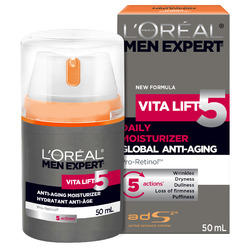 L'Oreal Men Expert Vita Lift 5 Daily Moisturizer for Anti-Aging