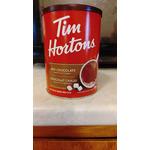 Tim horton hot chocolate beverage
