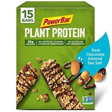 PowerBar Plant Protein Almond, Sea Salt and Dark Chocolate