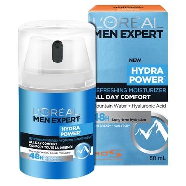 L'Oreal Men Expert Hydra Power Refreshing Moisturizer All Day Comfort 48H