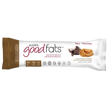 Suzie's Good Fats Coconut Chocolate Chip Snack Bar