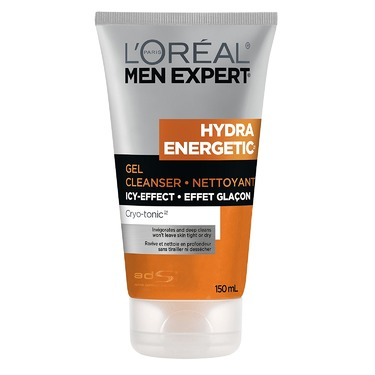L'Oreal Men Expert Hydra Energetic Gel Cleanser with Cryo-tonic™